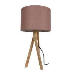 LILA STOLNA LAMPA TYP 3 LS2002 TAUPE+DREVO NATURAL ...