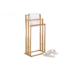 stojan na uteráky bambusový